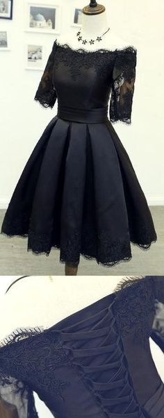 Homecoming Dresses With Sleeves, Cheap Homecoming Dresses, Cheap Black Homecoming Dresses, Homecoming Dresses Black, Homecoming Dresses Short, Short Homecoming Dresses Cheap, Homecoming Dresses Cheap, Black Homecoming Dresses, Short Homecoming Dresses, Short Black Dresses, Black Party Dresses, Princess Homecoming Dresses, Short Party Dresses With Pleated Sleeves Mini