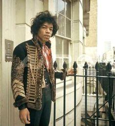 Jimi Hendrix, London, 1967