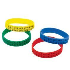LEGO City Rubber Bracelets