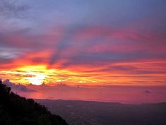 Sunset Pulosari Mount #PINdonesia