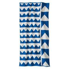 Nate Berkus™ Multi Point Beach Towel - Blue/White