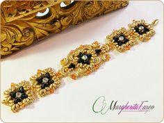 Isolde bracelet bead tutorial. How to make a bracelet using