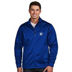 Men's Antigua Memphis Tigers Waterproof Golf Jacket,