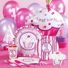 babys first birthday cakes ideas | First Birthday Party Ideas for Girls