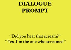 dialogue prompt