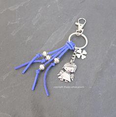 Schlüsselanhänger Engel von Happy-about-Pearls Trendschmuck & Accessoires auf DaWanda.com