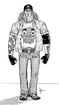 "Comics/Illustration - Erik ""Hungry Games"" Cyree"