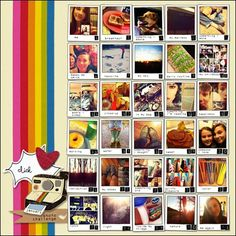 Instagram - Love the polaroid style! Awesome!