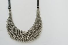 Chainmaille Necklace. by HooDooLouLou on Etsy