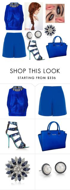 """""""Vestuário de dia-a-dia 168"""" by joana-baptista18 ❤ liked on Polyvore featuring Alexander Wang, Opening Ceremony, Emilio Pucci, Michael Kors and Blue Nile"""