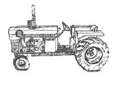 case international tractors coloring pages - photo#10