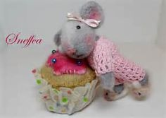 What perfect little treats from our felting friend, Carolyn Neff, AKA ...