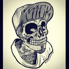 #Stylish #Skull