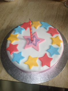 Twinkle Twinkle Little Star Birthday Cake - Cakenstein Cakes