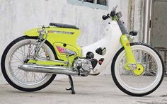Foto-foto Honda Super Cub Original & Modifikasi - Gambar.photo C90 Honda, Honda Cub, Bike Icon, Motorcycle Icon, 50cc Moped, Honda Bikes, Super Bikes, Custom Bikes, Vespa