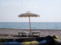 Gennadi Beach Rhodes Rhodos Rodos Greece Griechenland