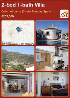 2-bed 1-bath Villa in Orba, Alicante (Costa Blanca), Spain ►€262,500 #PropertyForSaleInSpain