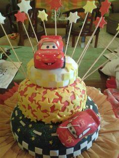 Torta modelo cars elab mileida