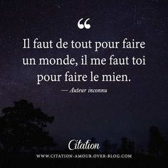 Quotation Amour : Découvrez les plus belles citations d'amour et phrases d… Love Nature Quotes, Words Quotes, Me Quotes, Citation Nature, Plus Belle Citation, French Quotes, Statements, Beauty Quotes, I Need You