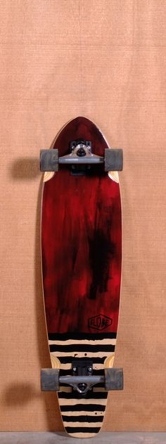 "Globe 36"" Arcadia Longboard Complete - Red OOOOoo kill em' for real tho that's nice"