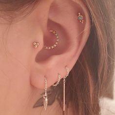 Pamela Love : Suspension Ear Threaders