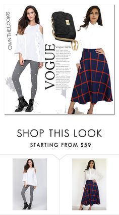 """""""ownthelooks"""" by melee-879 ❤ liked on Polyvore featuring skirt and ownthelooks"""