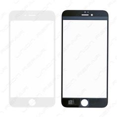 Replacement for iPhone Plus Front Glass - White Specifications: Color:White Screen Size: inches Material: Shatter proof glass, oleophobic coating Compatibility: Apple iPhone Plus F. Apple Iphone 6s Plus, Screen Size, Glass, Color, Colour, Drinkware, Colors, Yuri