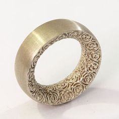 Tania Lozano Klust.  Pierced Hollow Form--would love this reversed