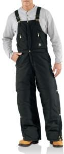 Carhartt Extremes Arctic Zip-Front Overall - Quilt Lined-Irregular