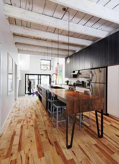naturehumaine - a long kitchen. (Montréal, QC)