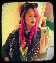 Demi Lovato en rose