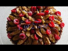 The Ultimate Fig Tart - Bruno Albouze - THE REAL DEAL - YouTube