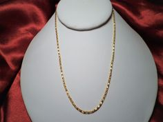 """womens 16"""" fancy design 2mm snake chain necklace 14k gold plated heart clasp #Unbranded #SnakeChain"""