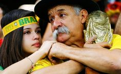 Brazil vs Germany: Brazilians Cry and Curse at World Cup Humiliation