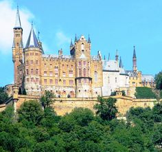 Hohenzollern Castle dates back to the 11th century and has seen numerous wars including the Thirty Years War, fallen into ruin and even suffered from an earthquake. Description from beforeitsnews.com. I searched for this on bing.com/images