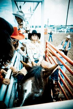 """Rodeo on, cowgirls! Whenever my mare starts to buck a just think to myself...""""I'm traning for this moment so hang on"""""""