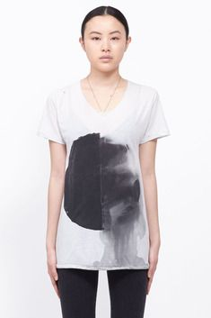 Amy Glenn B Tee (White/black) $163, down from $326. js