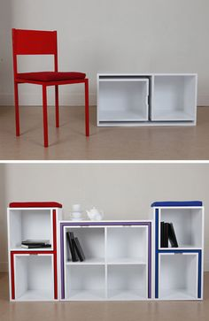 As If From Nowhere Bookcase Hides All of Your Dining Room Furniture