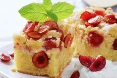 Prajitura simpla cu visine - Culinar.ro