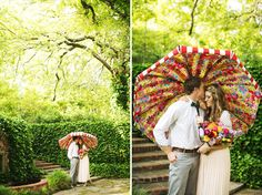 Whimsical Garden Party Wedding Inspiration