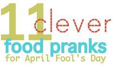 Family friendly April Fool's ideas