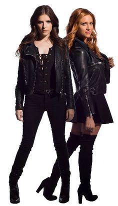 Anna Knedrick and Brittany Snow