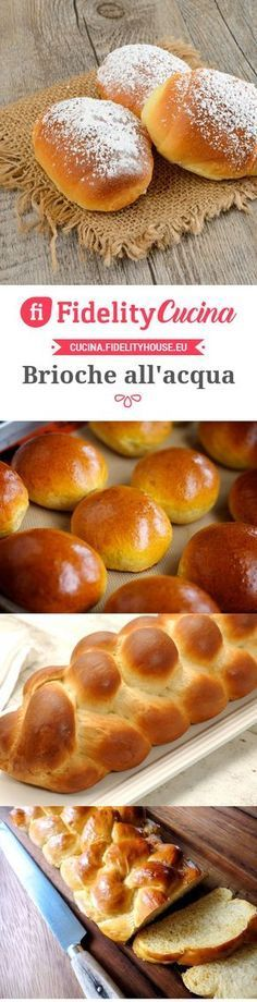 Brioche all'acqua Quick Easy Desserts, Desserts For A Crowd, Fun Desserts, Delicious Desserts, Lemon Desserts, Sweets Recipes, Cake Recipes, Cooking Recipes, Food And Drink
