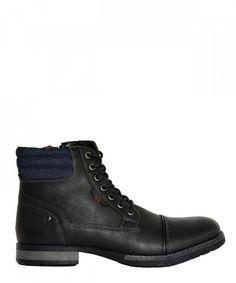 Ανδρικά αρβυλάκια μαύρα με κορδόνια EL0601 #ανδρικάμποτάκια #μοδάτα #ρούχα #παπούτσια #στυλ #φθηνά #μοντέρνα Hiking Boots, Combat Boots, Shoes, Fashion, Moda, Zapatos, Shoes Outlet, Fashion Styles, Shoe