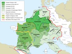 Frankish Empire 481 to 814-en - Middle Ages - Wikipedia, the free encyclopedia
