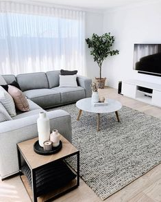 25 Gorgeous Living Room Color Schemes to Make Your Room Cozy - Delight living r. - 25 Gorgeous Living Room Color Schemes to Make Your Room Cozy – Delight living room color ideas g - Beautiful Living Rooms, Cozy Living Rooms, Living Room Grey, Home Living Room, Barn Living, Living Room Interior, Living Room Decor Ideas Apartment, Country Living, Black White And Grey Living Room