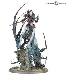 Warhammer Paint, Warhammer Aos, Warhammer Models, Warhammer Fantasy, Warhammer 40000, Warhammer Vampire Counts, Tomb Kings, Dire Wolf, Warrior Queen