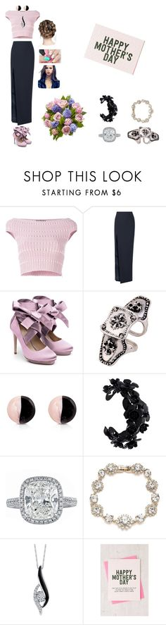 """Mother's Day Celebration"" by xxstephanieschultzxx on Polyvore featuring Alexander McQueen, Elizabeth and James, Liam Fahy, Antica Murrina, Valentino, Marchesa, Sirena and Urban Outfitters"
