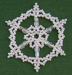 Snowflake #33 Ornament Pattern