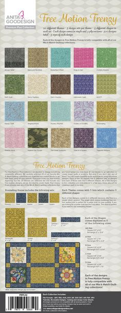 Embroidery Machines 71196: Anita Goodesign Embroidery Designs Free Motion Frenzy Premium Plus Collection -> BUY IT NOW ONLY: $234.95 on eBay!